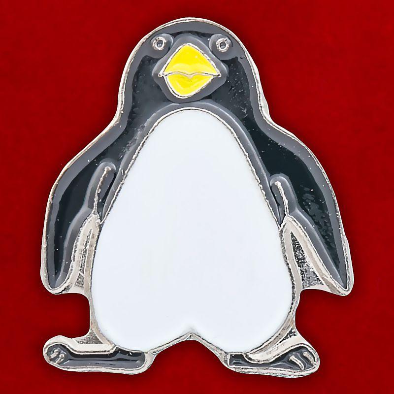 """Значок """"Пингвин"""""""