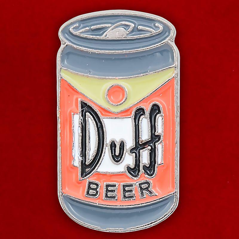 """Значок """"Пиво Дафф"""""""