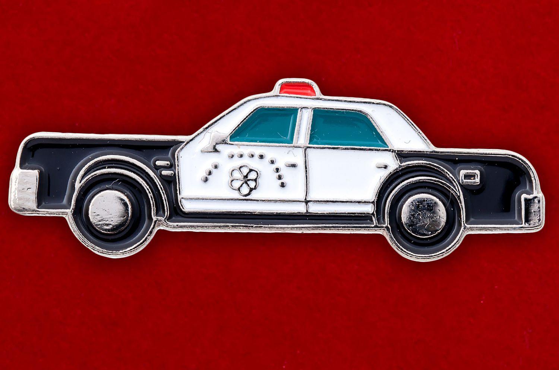 """Значок """"Полицейский автомобиль"""""""