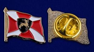 Значок Приволжского Регионального Командования  - аверс и реверс
