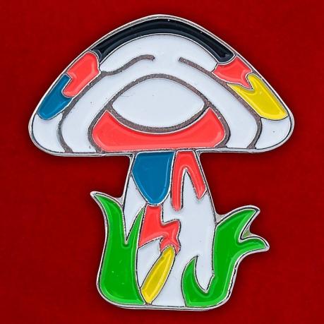 "Значок ""Psychedelic Mushroom"""