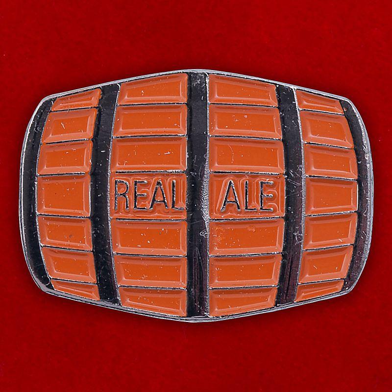 "Значок ""Real Ale Barrel"""