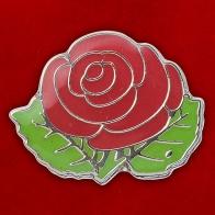 """Значок """"Роза красная"""""""