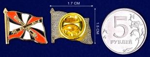 Значок РВиА - сравнительный размер