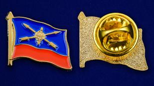 Значок Ракетных войск - аверс и реверс