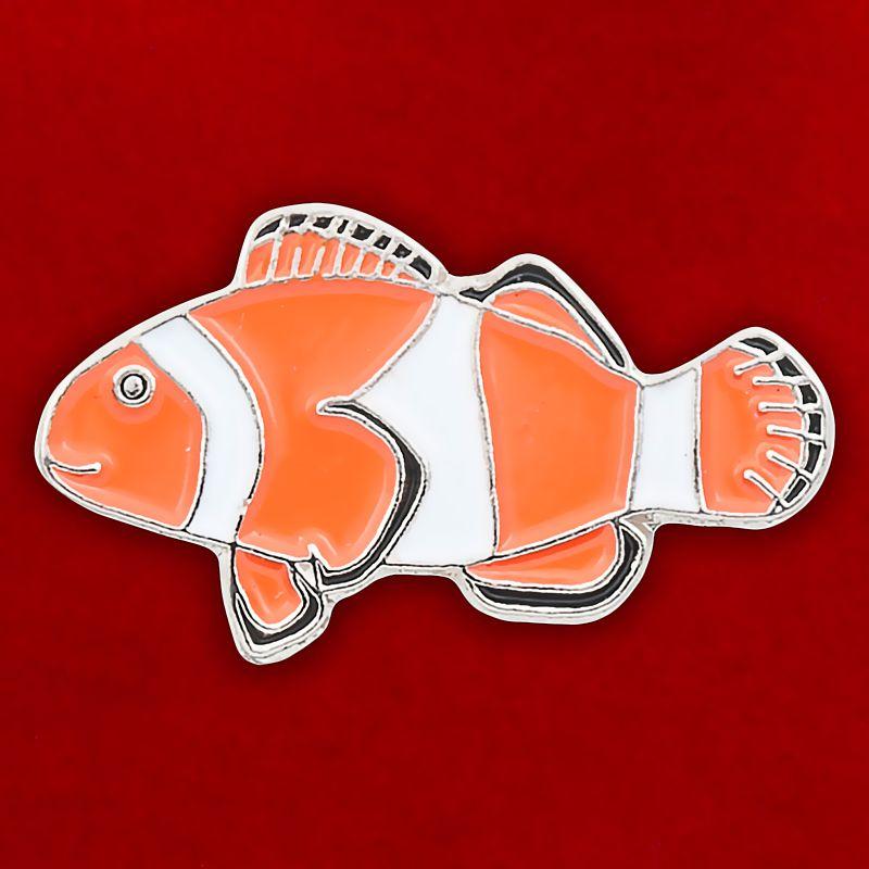 "Значок ""Рыба-Клоун"""