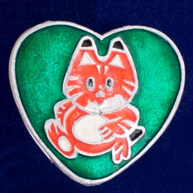 """Значок """"Рыжий Кот"""""""