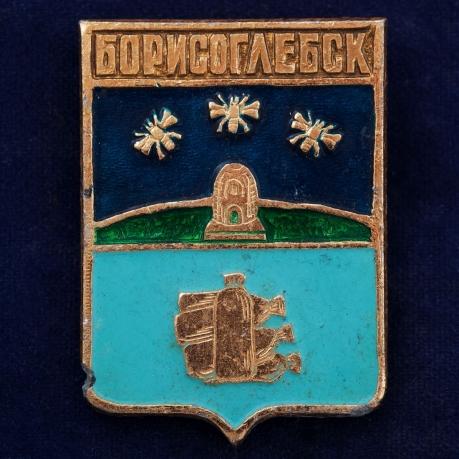 Значок с гербом Борисоглебска