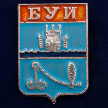 Значок с гербом Буя