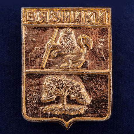Значок с гербом Вязников