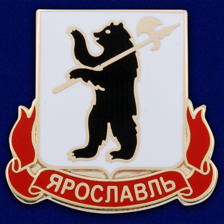 Значок с гербом Ярославля
