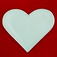 """Значок """"Серебряное сердце"""""""