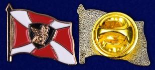 Значок Северо-Западного регионального командования - аверс и реверс