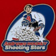 Значок школы хоккея Andrew's Hockey, Шарлоттаун, Канада