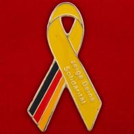 Значок солидарных с проблемой самоубийств в Германии