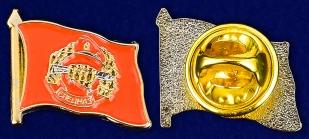 Значок Спецназа ВВ - аверс и реверс