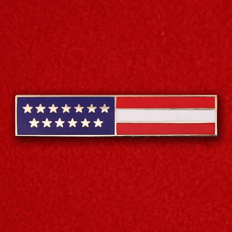 """Значок США """"Флаг"""""""