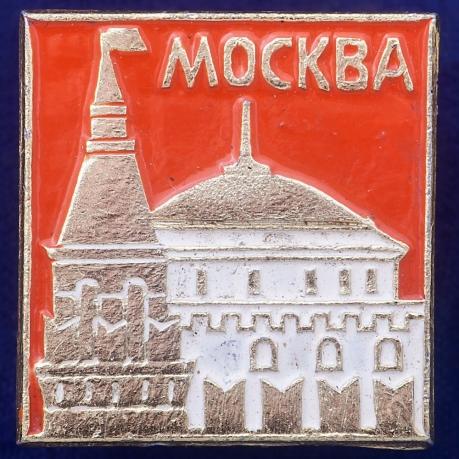 Значок Столица СССР