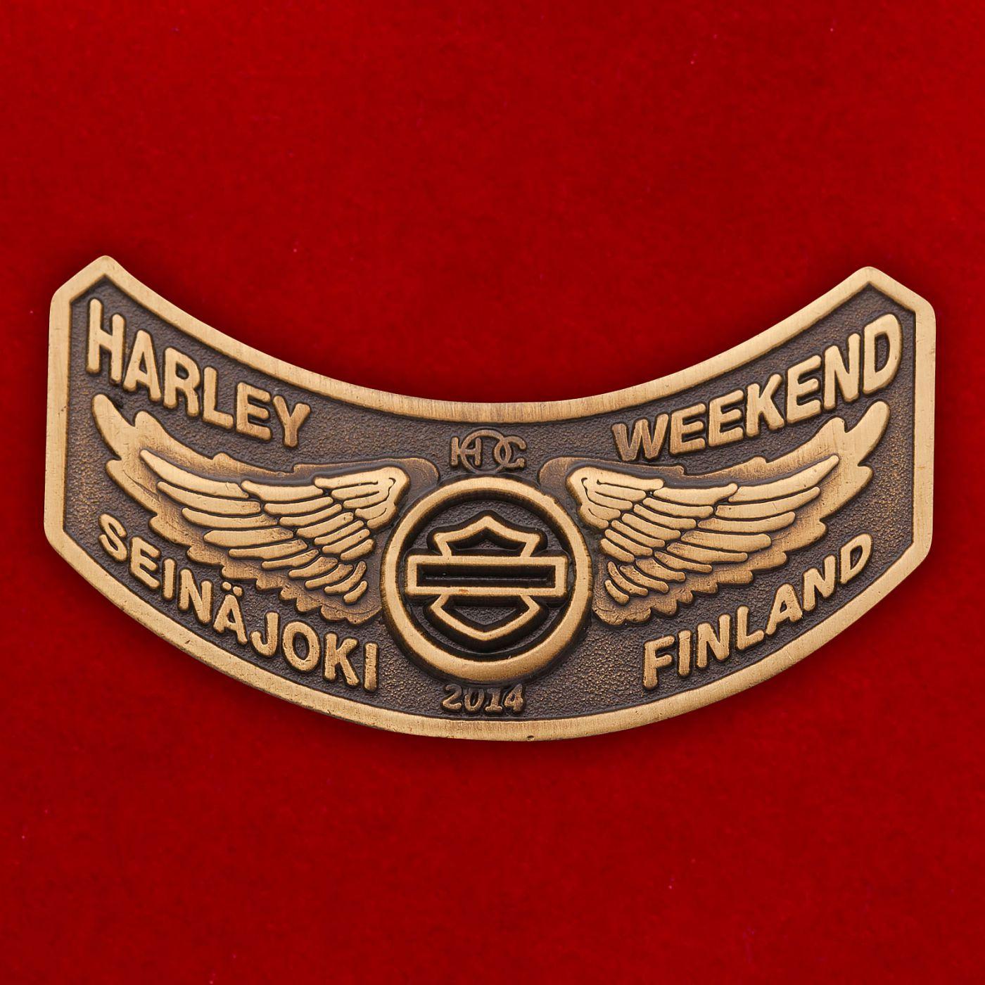 Значок Суперкубка Европы по моторалли в Сейняйоки, Финляндия