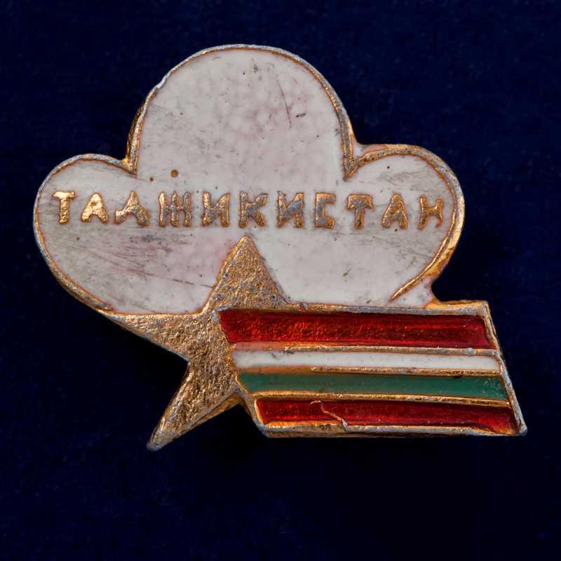 Купить значок Таджикистана