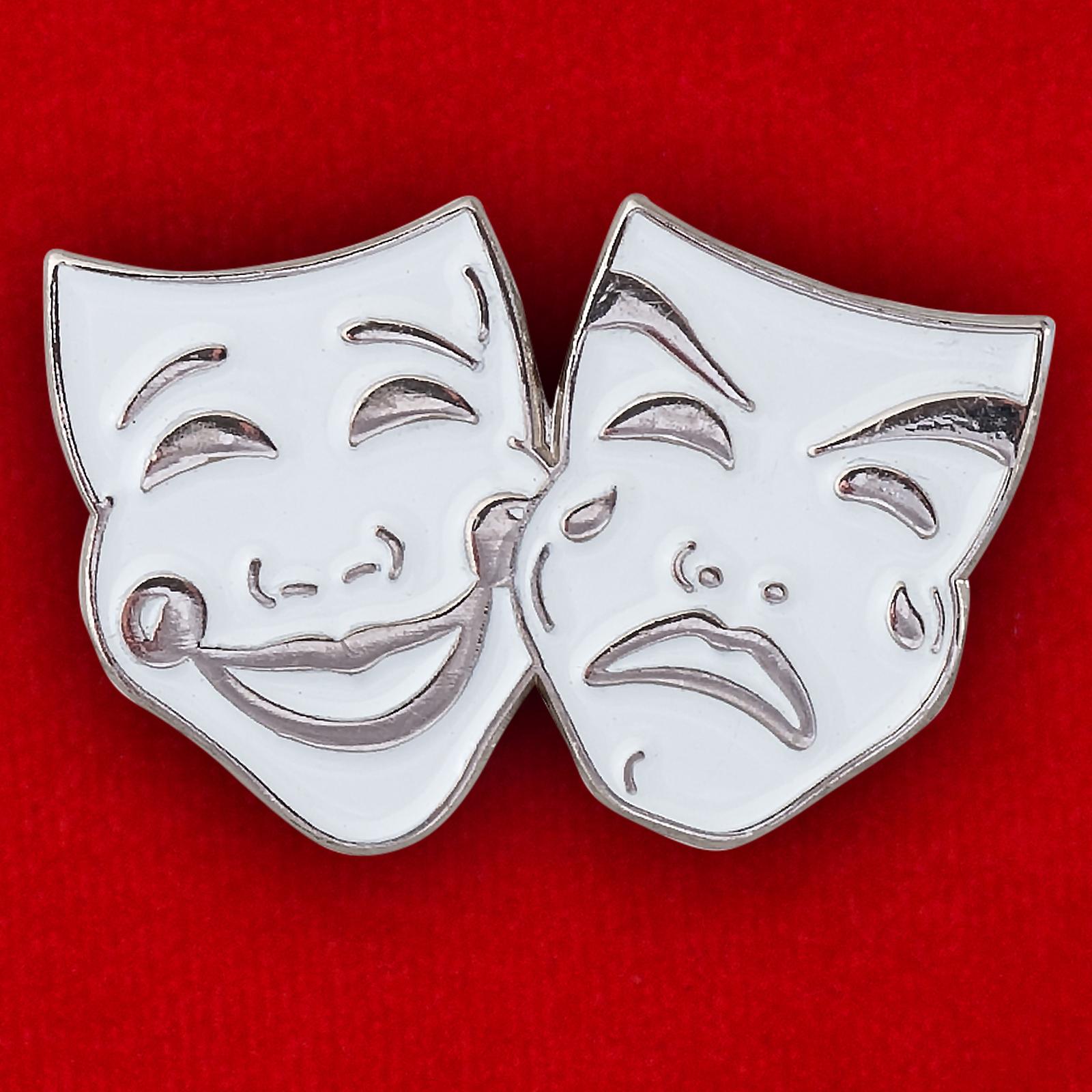 """Значок """"Театральные маски"""""""