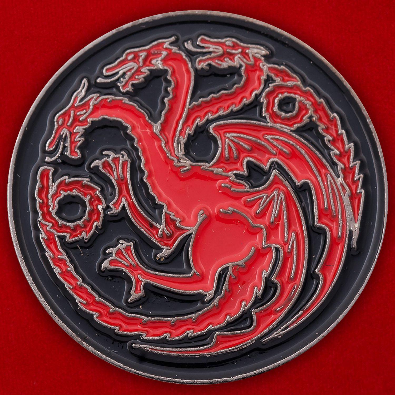 "Значок ""Трехглавый дракон"""