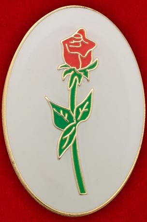 """Значок """"Цветок розы"""""""