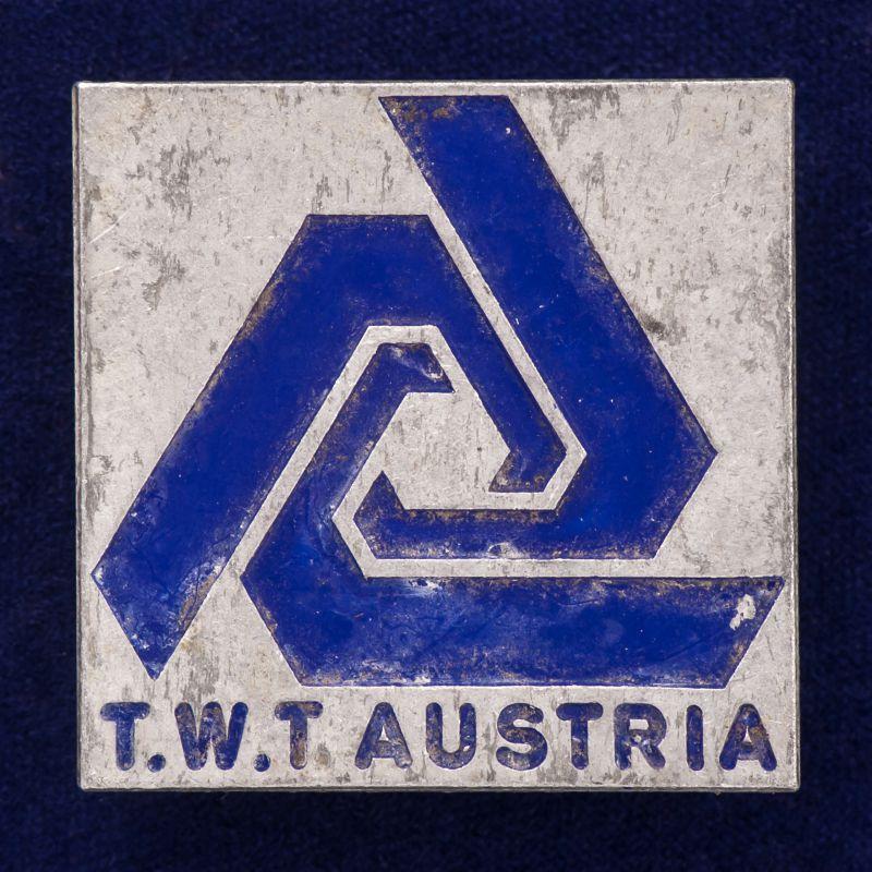 "Значок ""TWT. Австрия"""