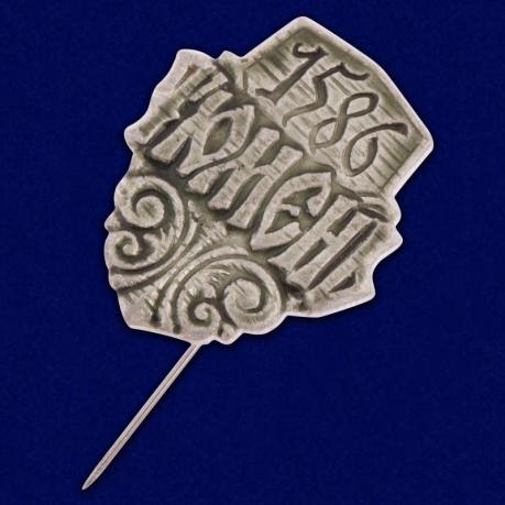 "Значок ""Тюмень. 1586"""