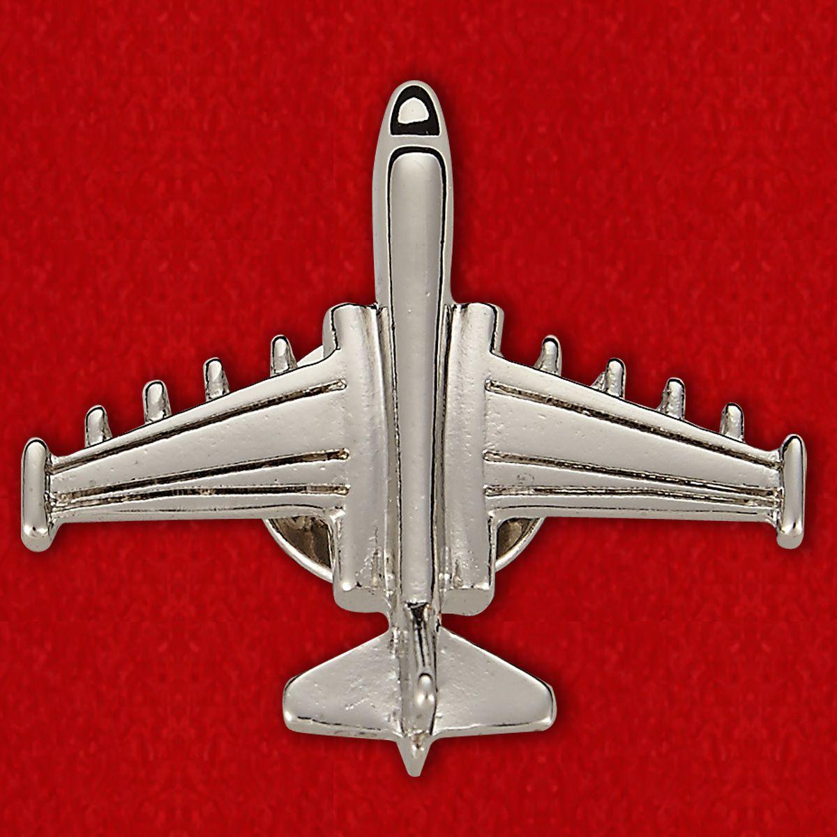 Значок в виде бомбардировщика