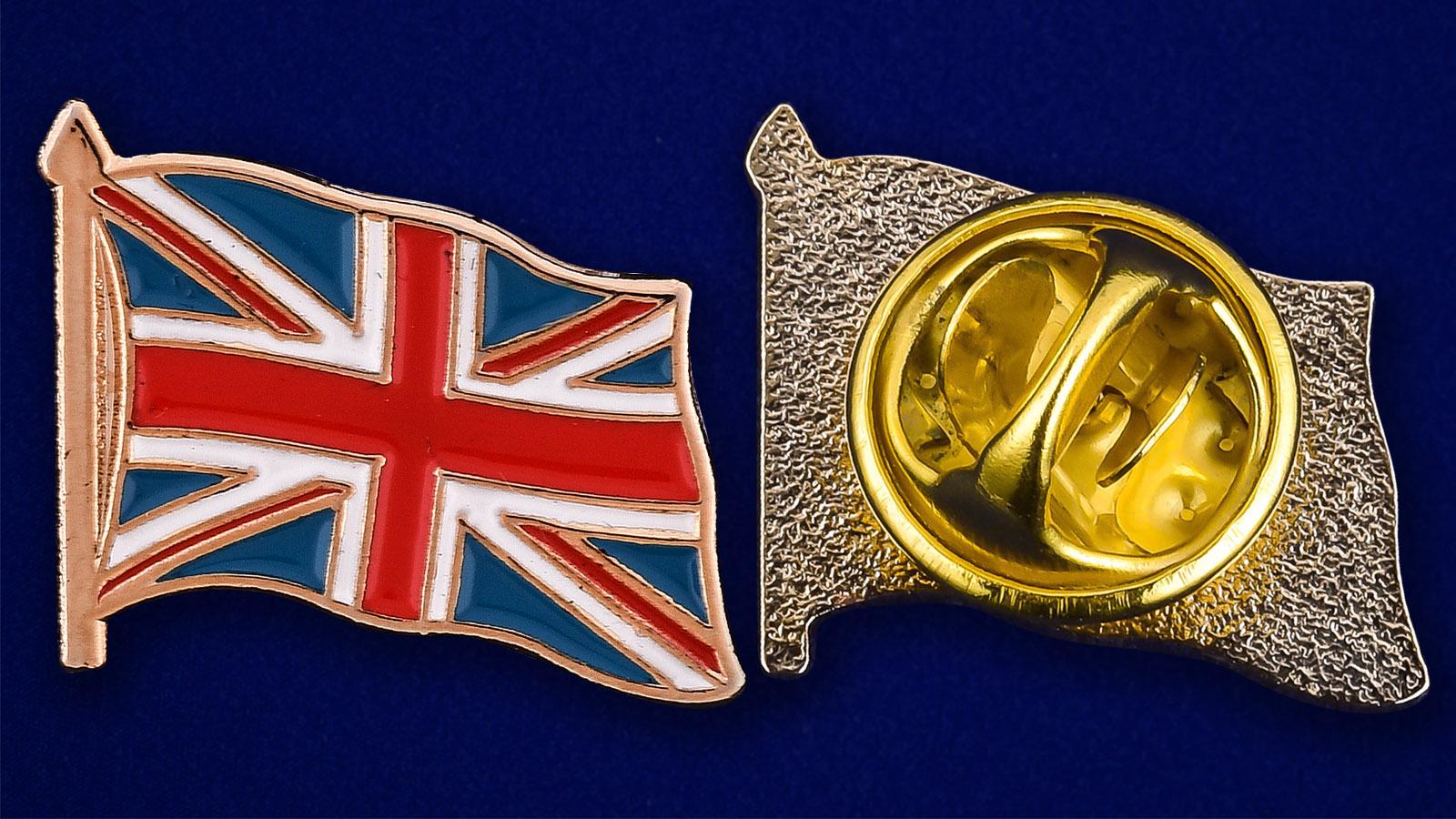 Значок Великобритания - аверс и реверс