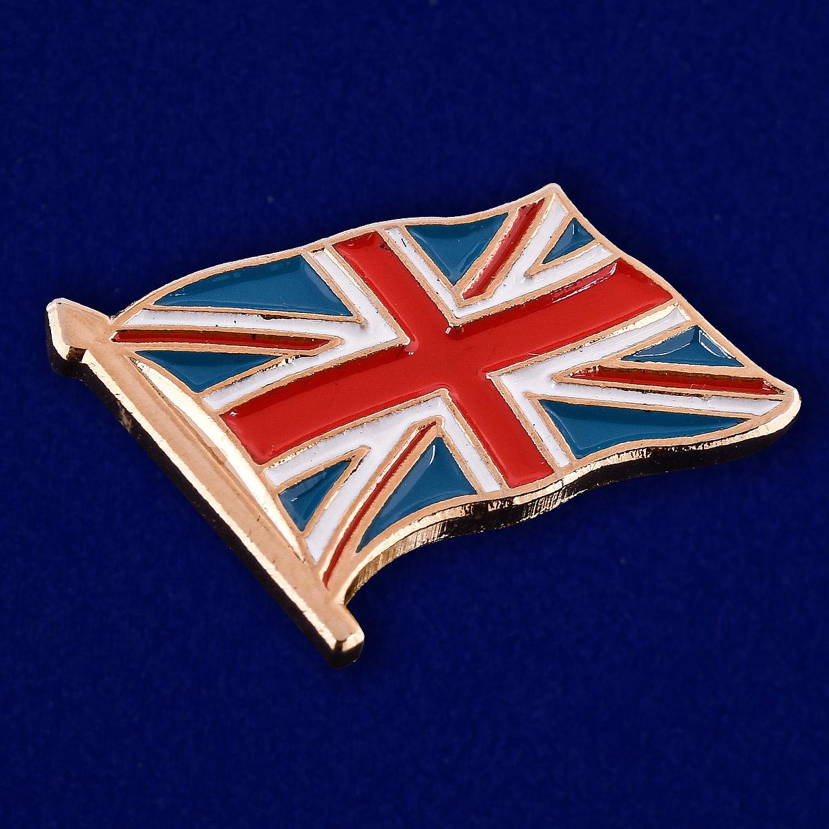 Значок Великобритания - общий вид