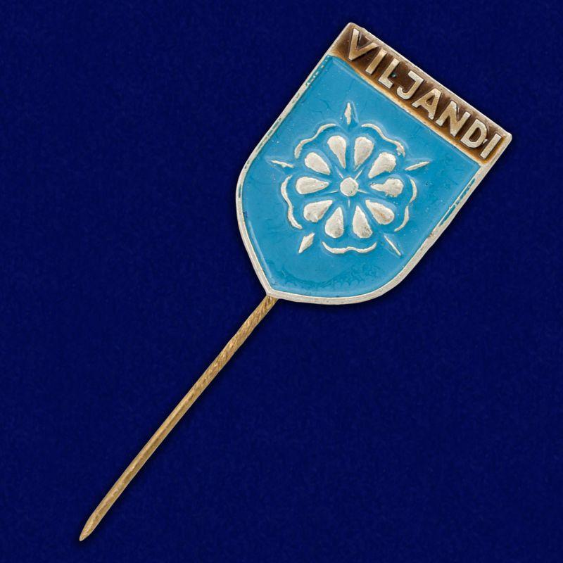 "Значок ""Вильянди. Эстония"""