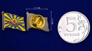 Значок ВВС СССР - сравнительный размер