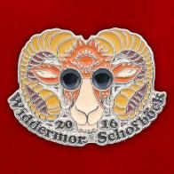 Значок животноводческой ассоциации Widdermor Schofböck