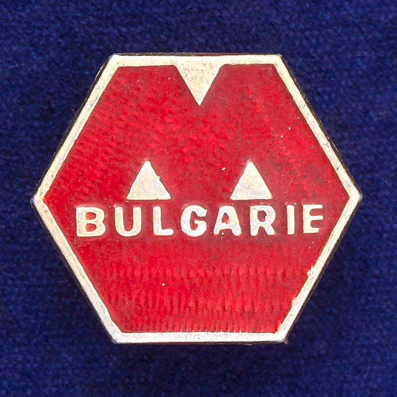 """Значок """"Болгария"""""""