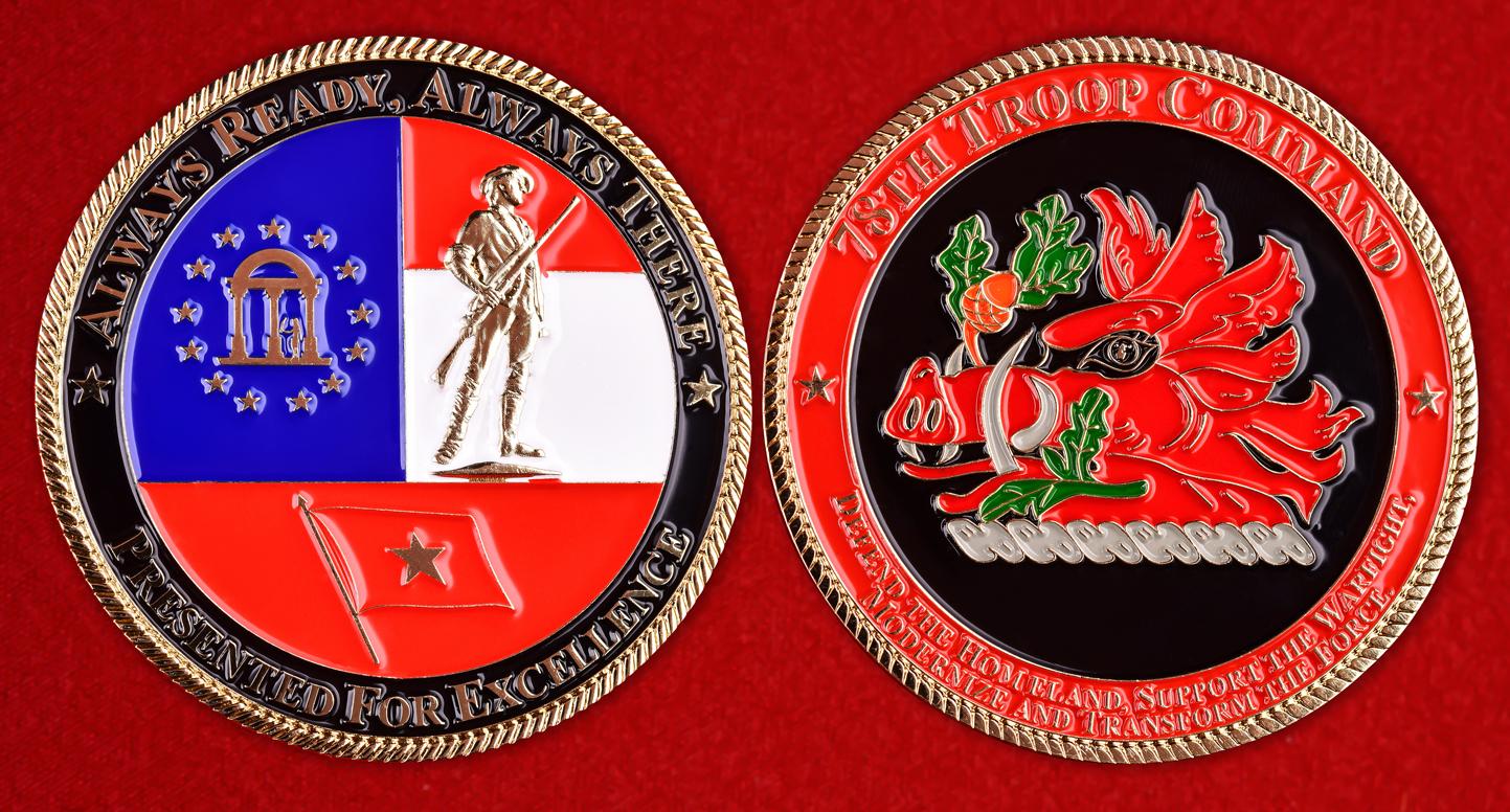 Знак 78-го командования авиации Национальной гвардии США