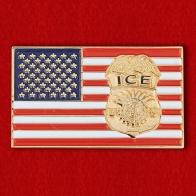 """Знак агентов Иммиграционной и таможенной полиции США"""""""