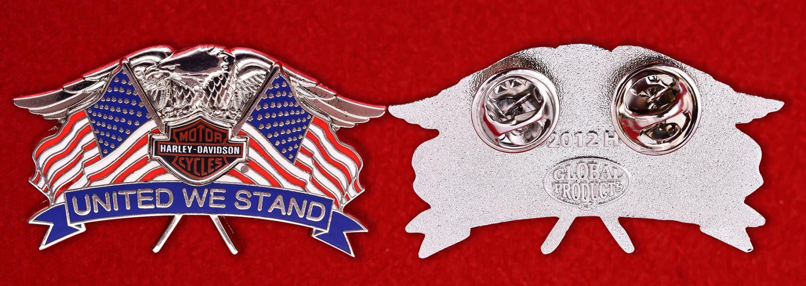 """Знак американских байкеров """"Харлей-Дэвидсон"""""""