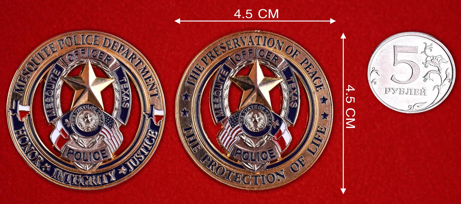 Коллекционная монета полиции США