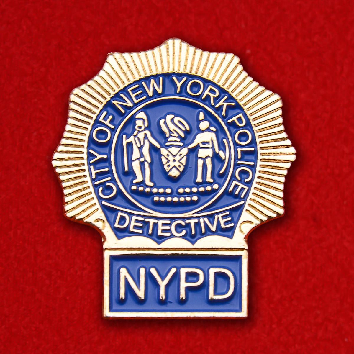 """Знак """"Детектив полиции Нью-Йорка"""""""