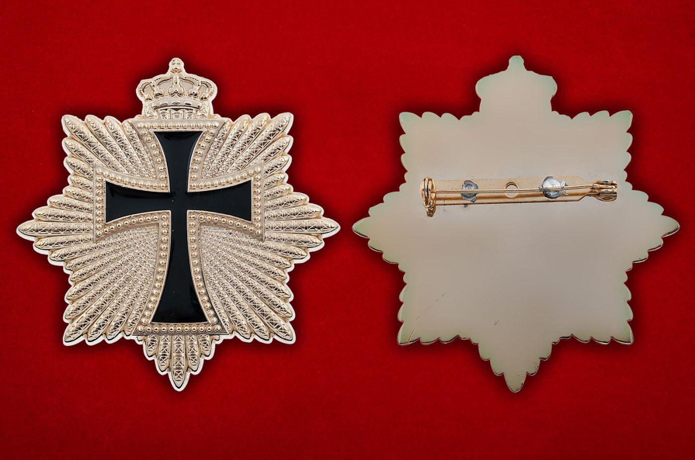 Знак Испанской короны - аверс и реверс