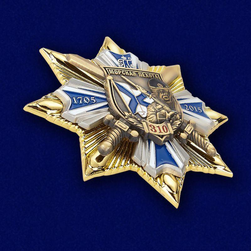 Знак Морской пехоты - вид под углом
