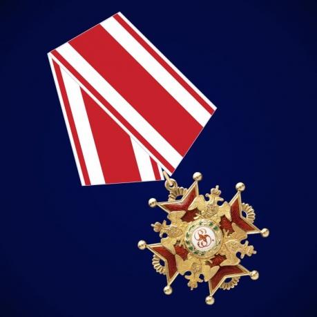 Знак ордена Святого Станислава 3 степени