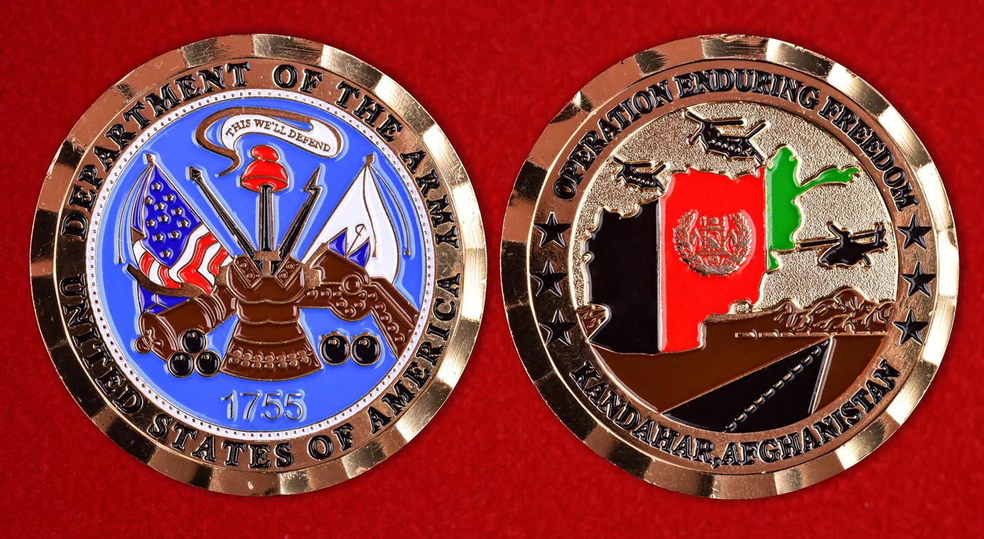 """Знак отличия США """"За Кандагар"""" участникам операции Несокрушимая свобода"""