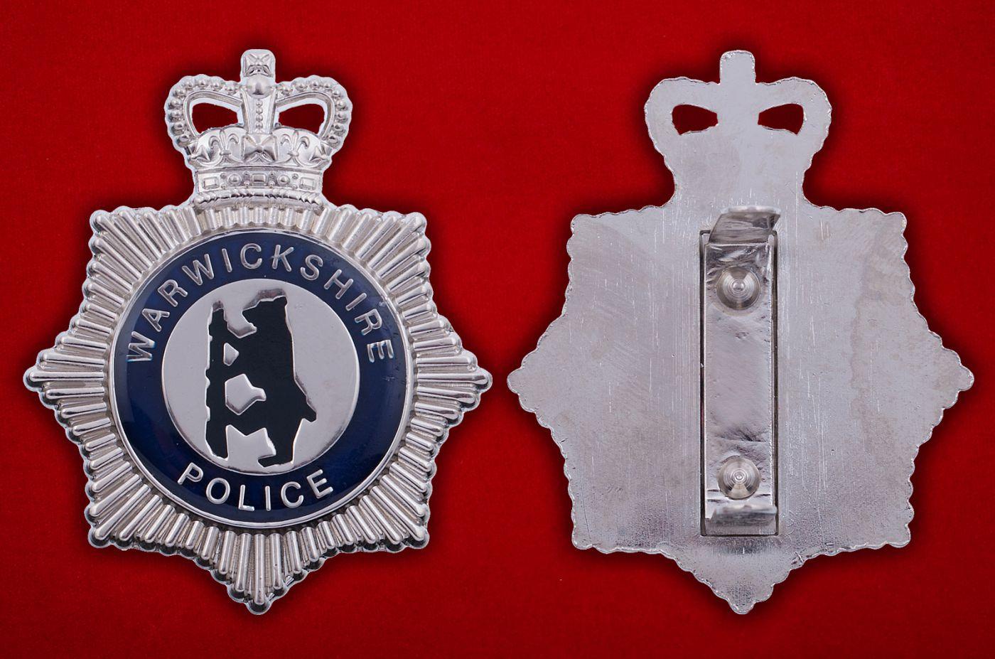 Знак полиции Йоркшира - аверс и реверс