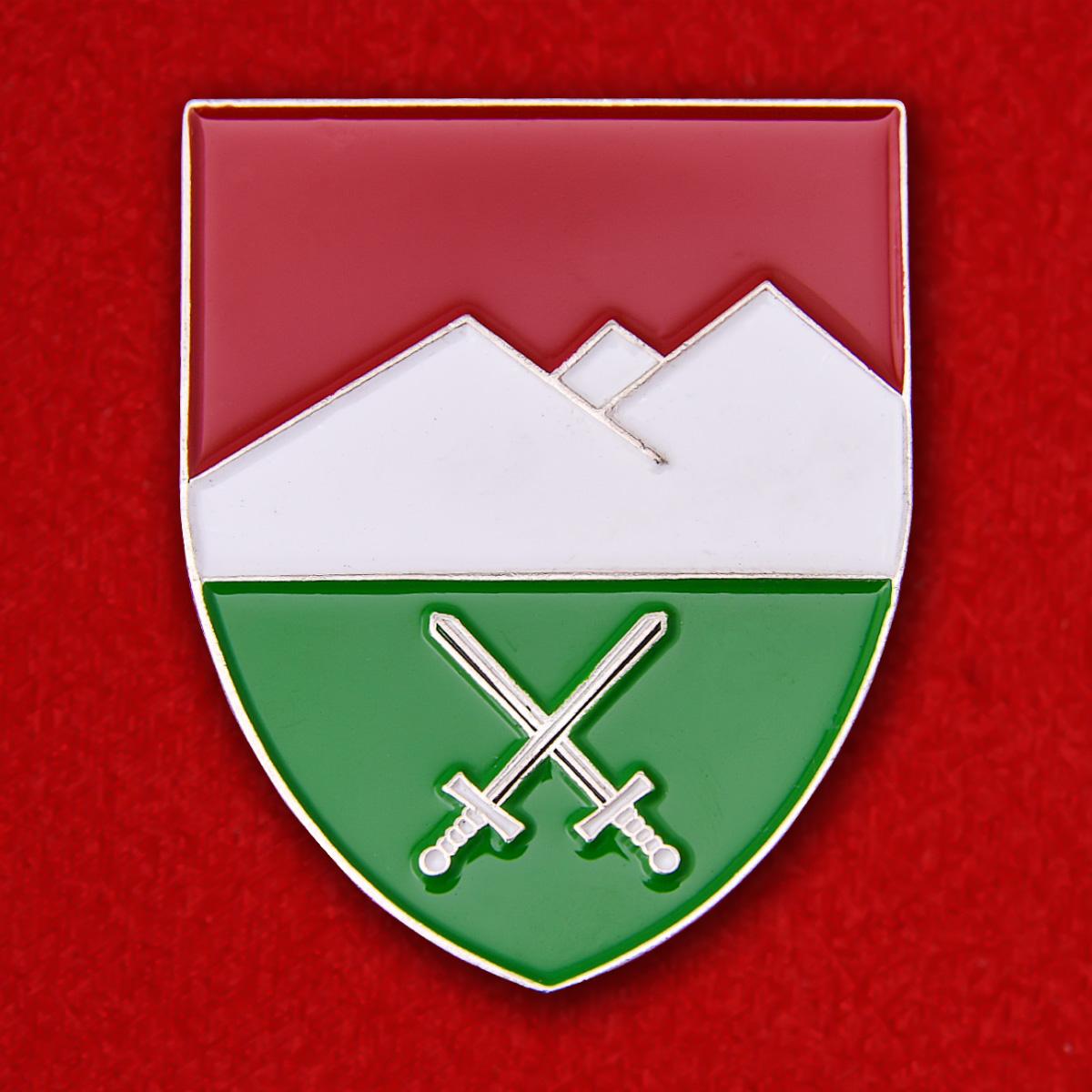 Знак учебного горного лагеря Бундесвера в Миттенвальде для боевых действий в зимних условиях