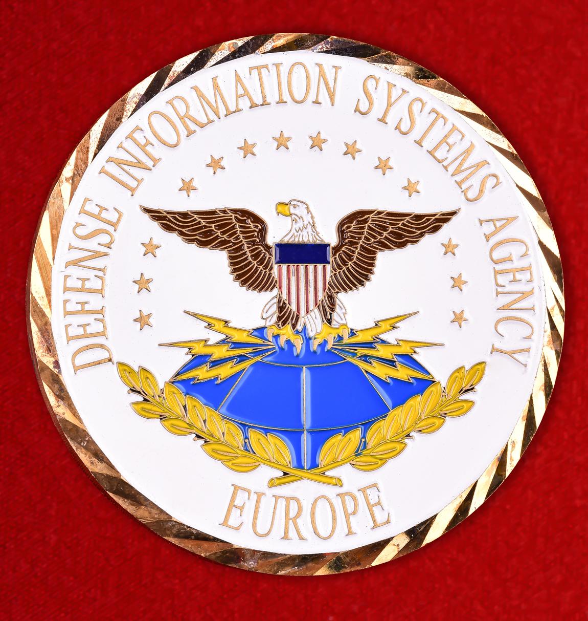 """Знак ВМС США """"Агентство защиты информационных систем в Европе"""""""