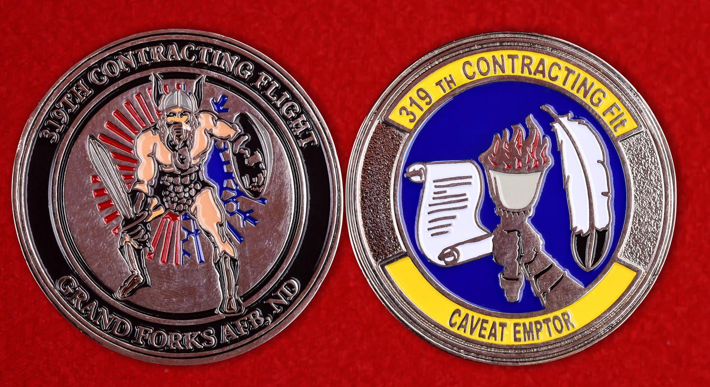 "Знак ВВС США ""319-е крыло"""