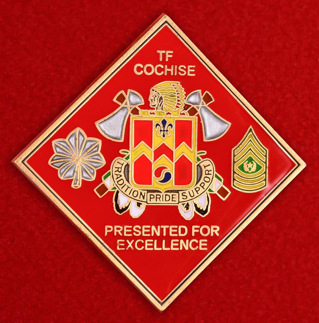 """Знак """"За отличие"""" 700-го бригадного батальона обеспечения армии США"""
